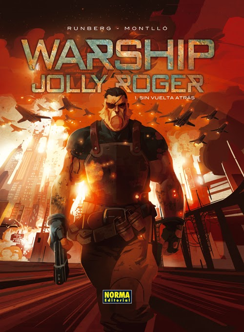 warship jolly roger comic norma editorial