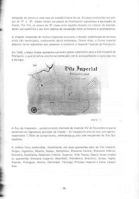 Página 25 do livro Projeto Petrópolis, Planejamento e Preservação
