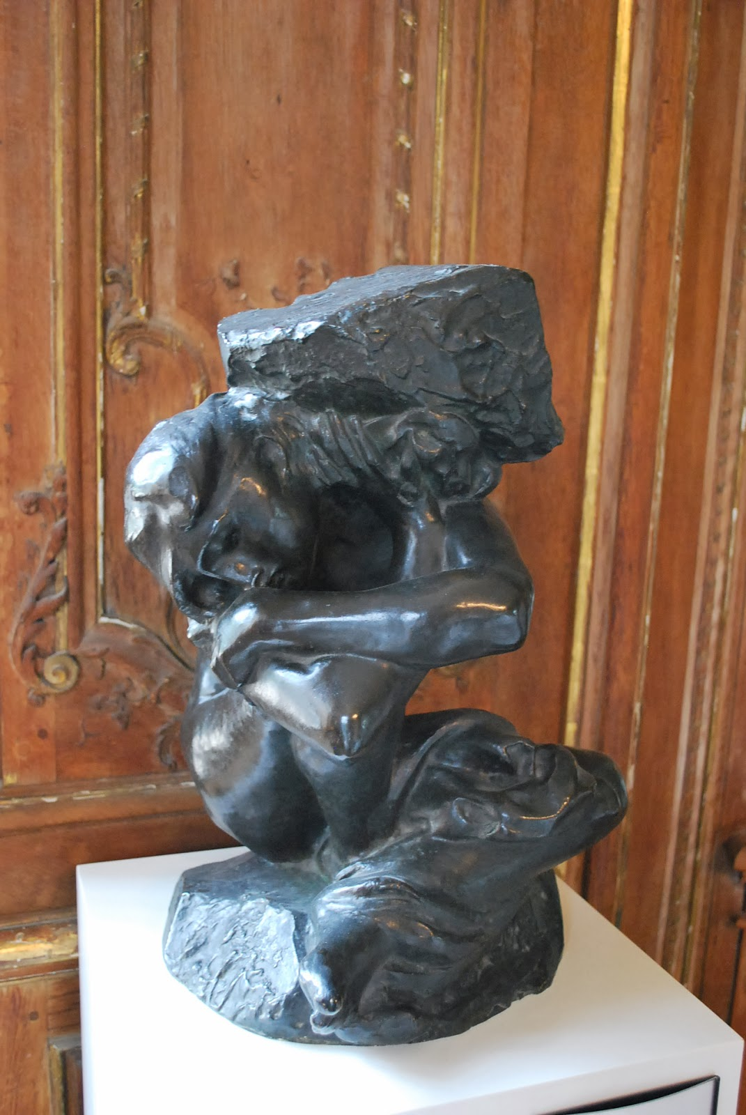 Rodin antique cariatide 1882