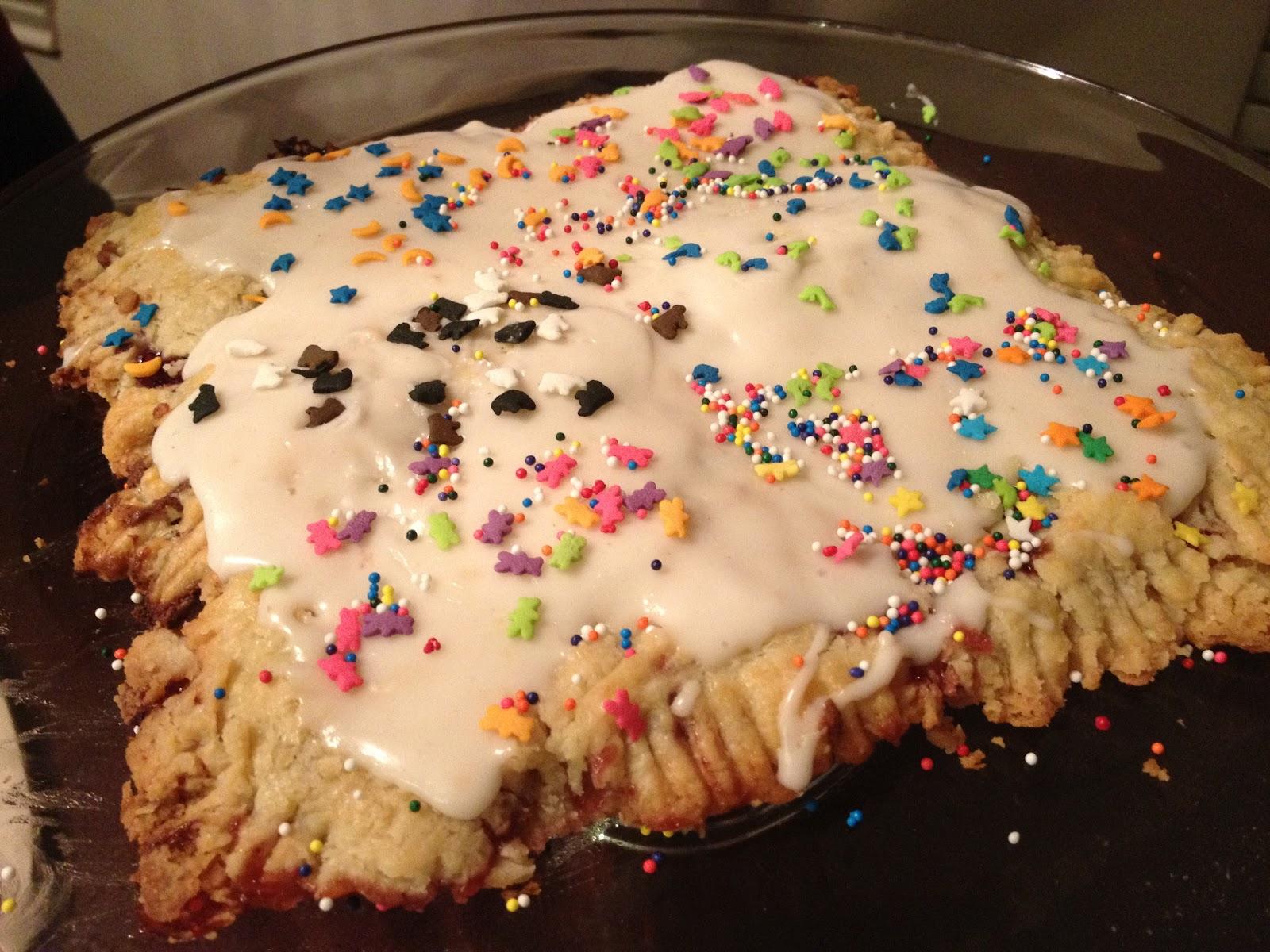 My Mess Their Kitchen Pop Tart Cake