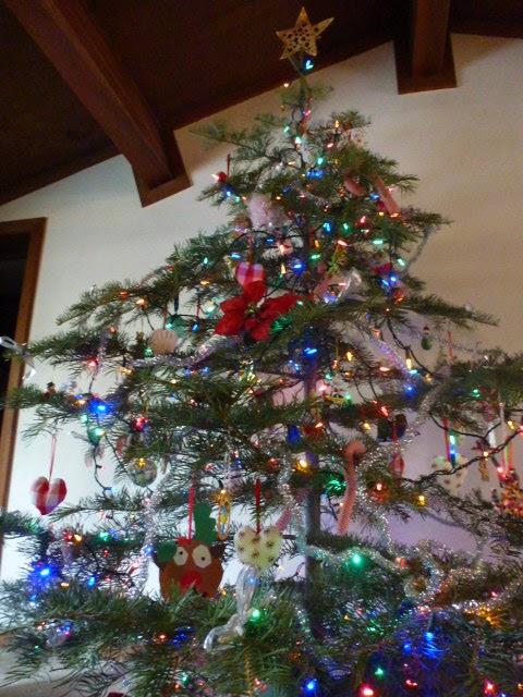 homemade christmas tree star - Homemade Christmas Tree