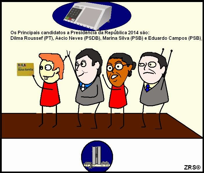 Candidatos a Presidência 2014