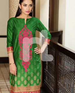 Nishat Linen 14th August Green Suits Designs