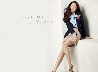 park min young hot korean celeb by macemewallpaper.blogspot.com