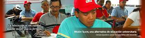 Página oficial de Misión Sucre