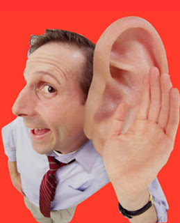 orelha direita,esquerda queimando