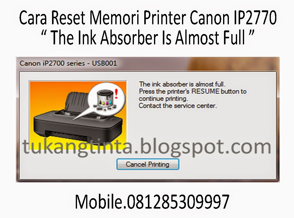 Pusat Modifikasi Printer Infus: Cara Reset Memori Printer ...