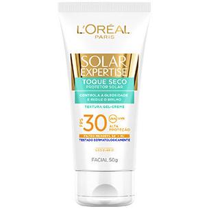 protetor Solar Expertise Facial Toque Seco FPS-30 L'Oréal