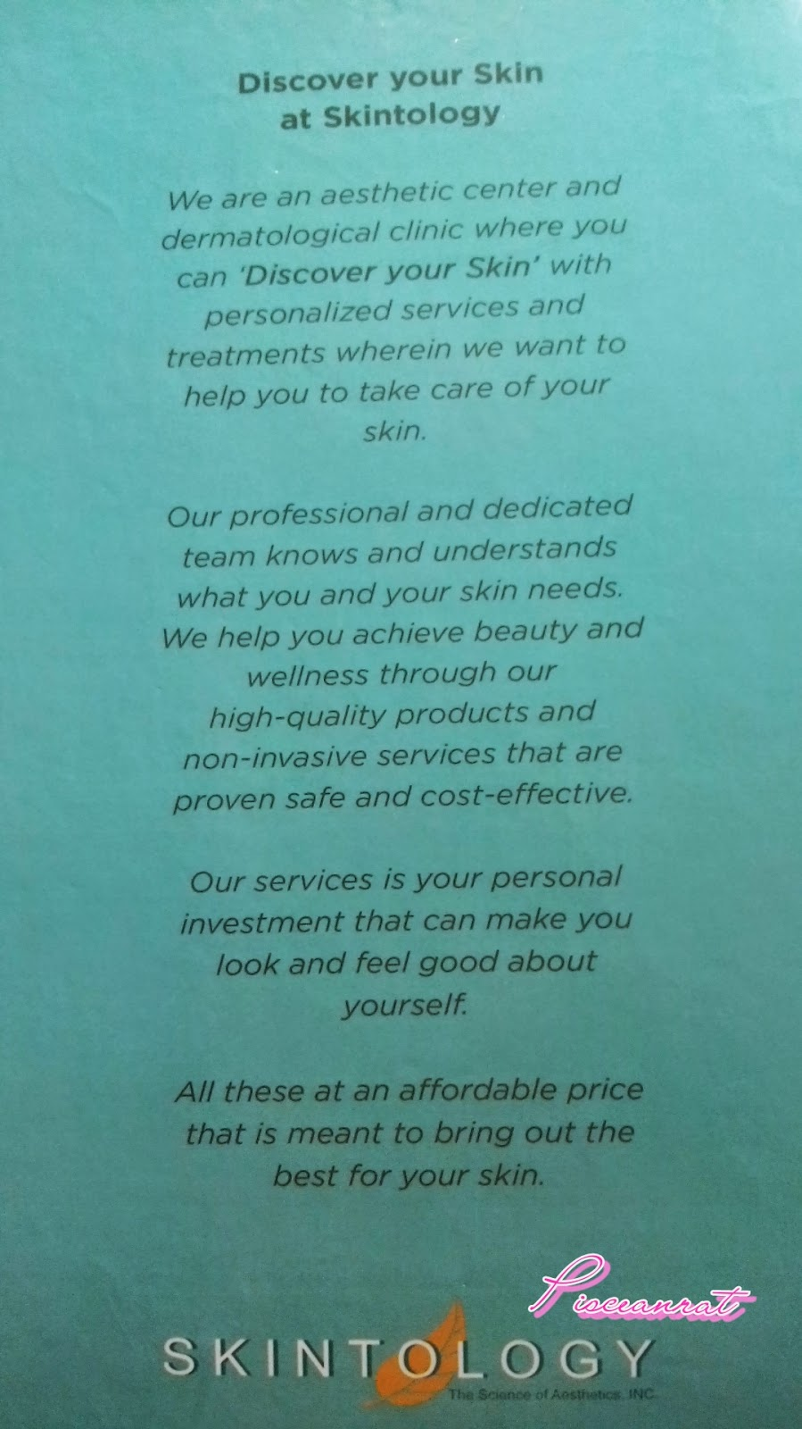 skintology address