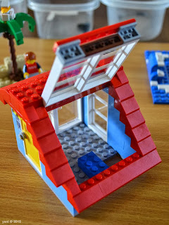 lego beach house - thunderbirds are go