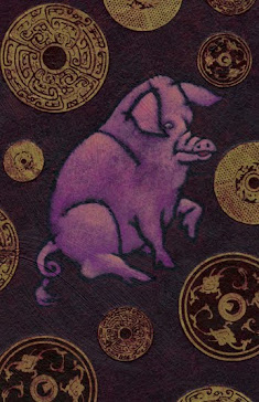 Chinese Zodiac Boar (Pig)