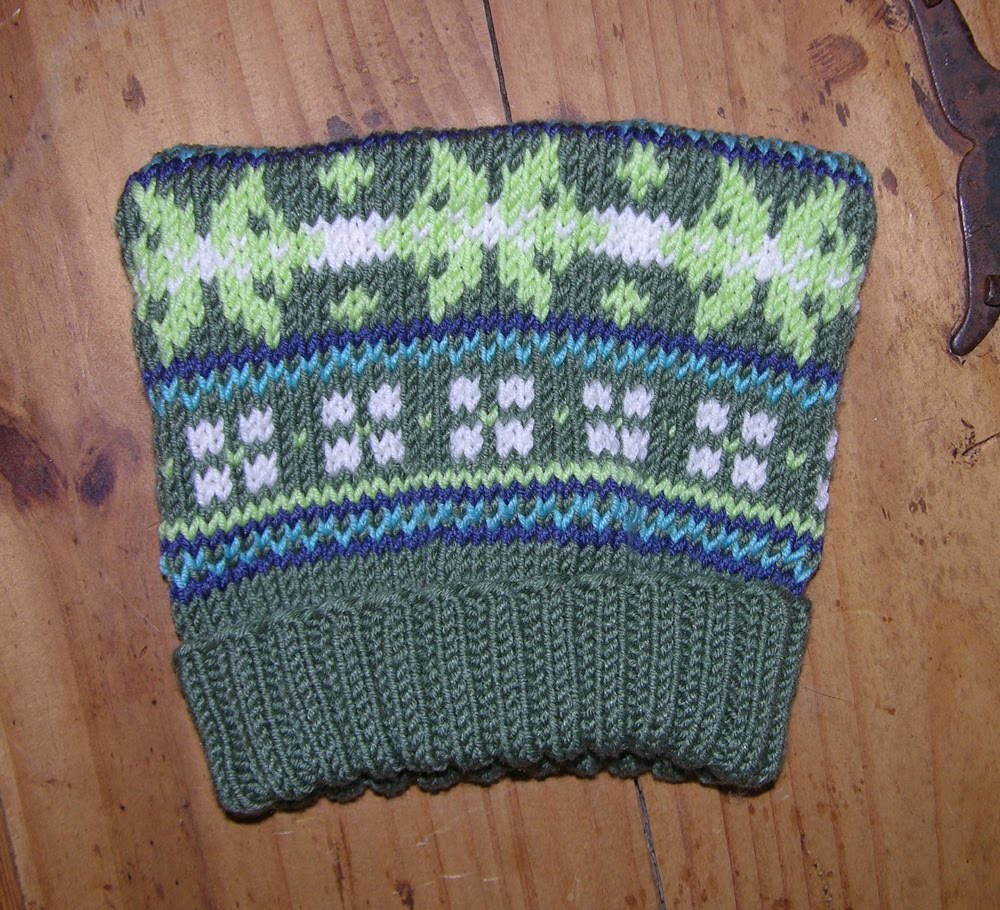 Knitting With Two Colors At The Same Time : Kyarns and the knitting s sublime