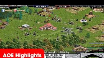 AOE Highlights, Map Gigantic là nơi chiến thuật lên ngôi.. Thái Bình bật time kinh điển