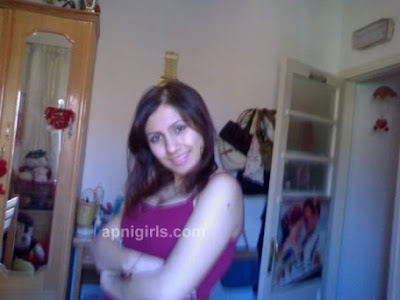 Hot Arab girl Bosy Ali in her Bedroom Self Picture