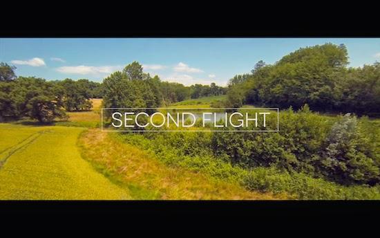 どこまでも飛んで行きたい気分になるワンダフル・フライト映像!『Second Flight - Dji Phantom 2 + Zenmuse H3-3D』