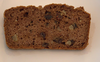 paleo bread with spices and raisins