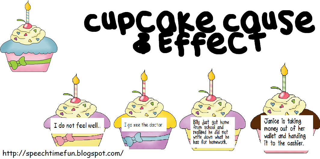 Cupcake cause effect - Wit ceruse effect ...
