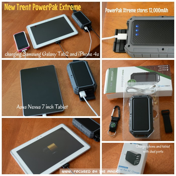 Must Have Monday: New Trent PowerPak Xtreme - NT120R 12000mAh and the New Trent Dual Port High Speed Wall Charger