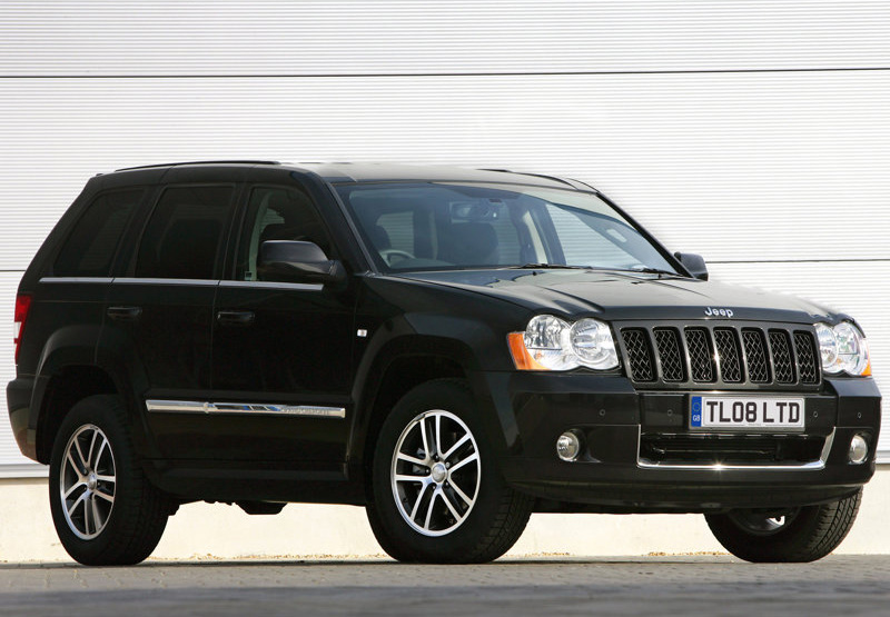 car maniax and the future jeep grand cherokee s limited uk version 2008j. Black Bedroom Furniture Sets. Home Design Ideas
