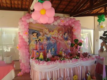 Linda Festa Princesas