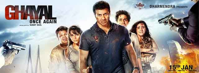 Ghayal Once Again Movie Cast and Crew Details