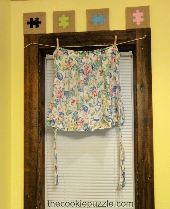Vintage Apron Curtains