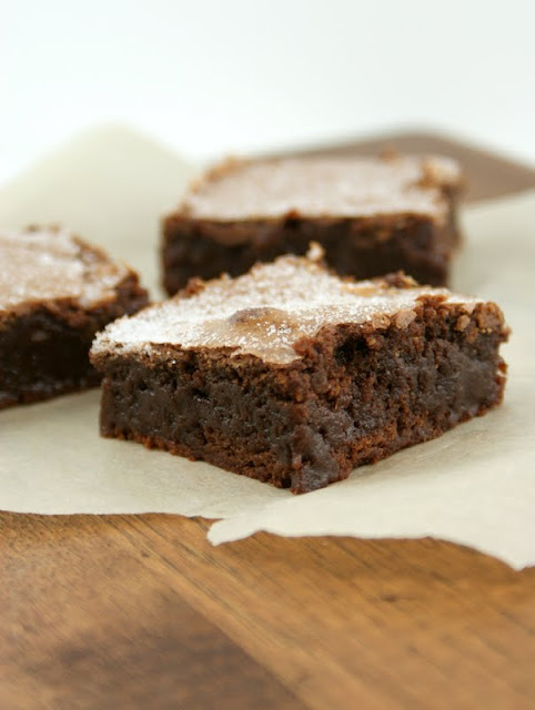 Authentic Suburban Gourmet: Sweet & Salty Brownie | Secret Recipe Club