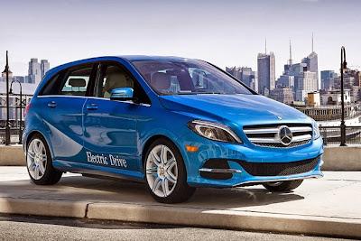 Mercedes-Benz o Classe B Eletric Drive