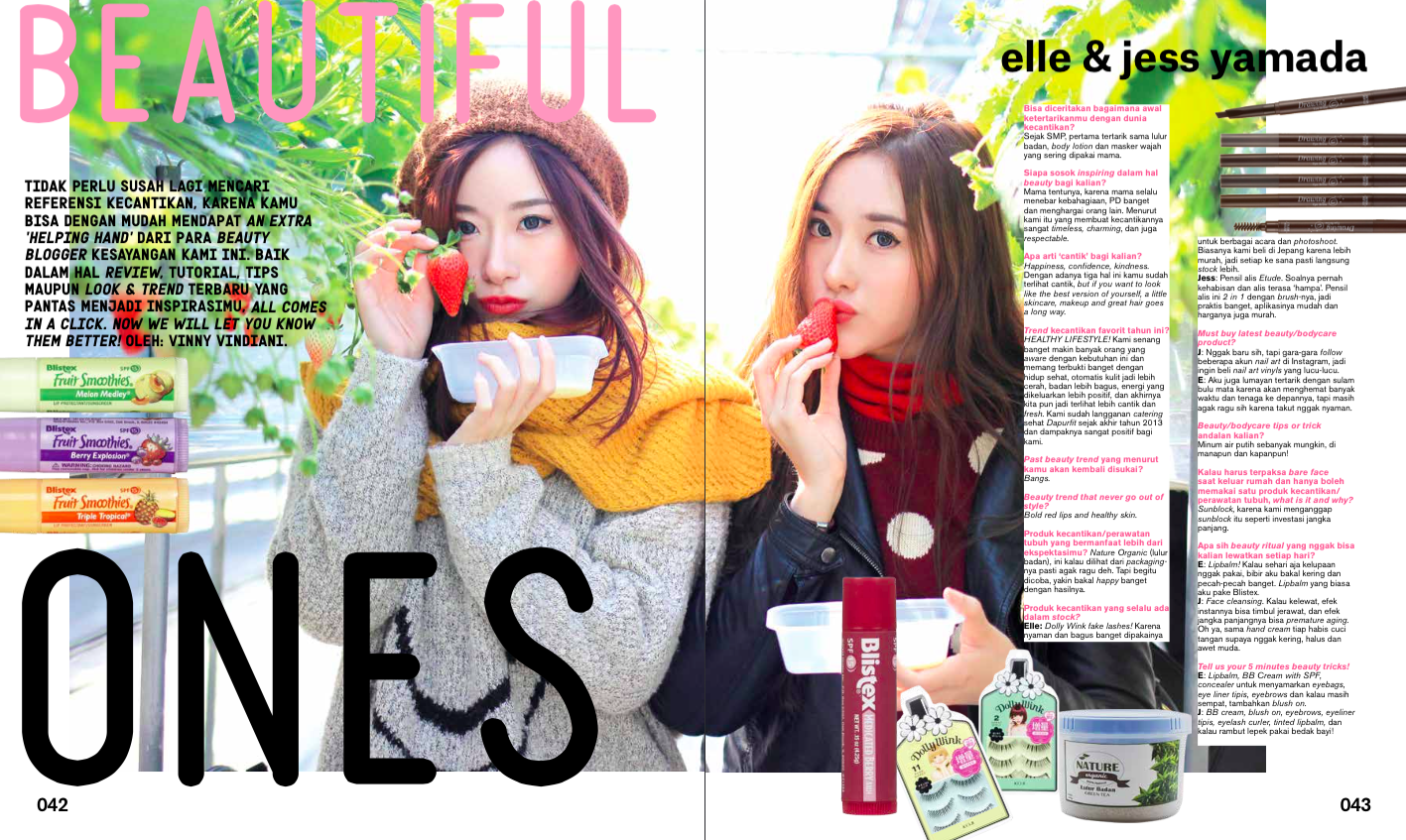 Featured In Nylon Indonesia April 2015 Issue Elle And Jess Even Like Guardian Stripe T Shirt Off White Putih S Bloglovin