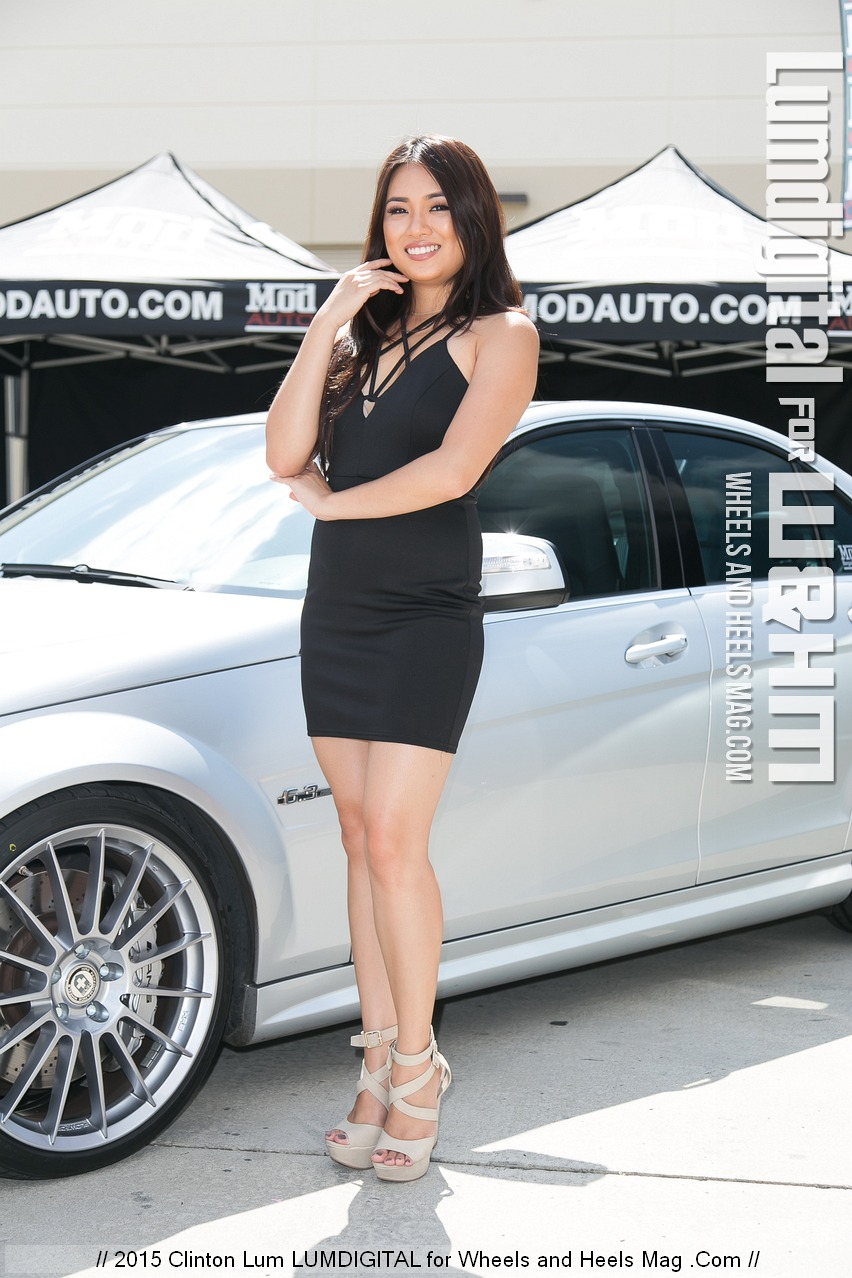 sandra mod com Sandra Wong Among Luxury Cars for Mod Auto at HRE Wheels Open House
