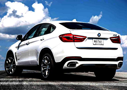 BMW X6 SUV 2015 Review