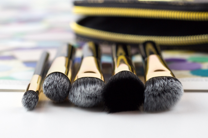 sephora all a glow brush set review