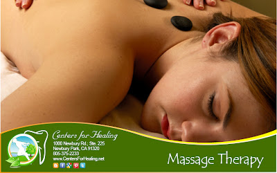 A Centers for Healing Massage stimulates the fast release of ionic calcium for healing and is recommended after surgery.