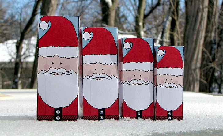christmas paper craft: