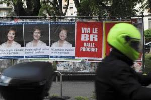 """Poster """"via le BR dalle procure"""""""