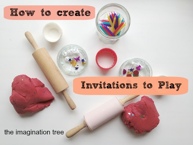 Creating invitations to play the imagination tree i have been asked lots of questions about these invitations to play or play prompts and i thought id address all of these in a post stopboris Images
