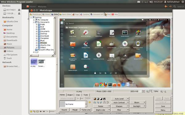 install photoscape on ubuntu