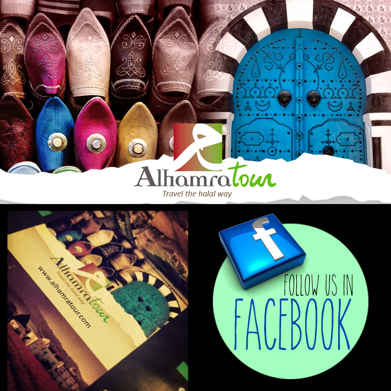 Follow Alhramratour in Facebook