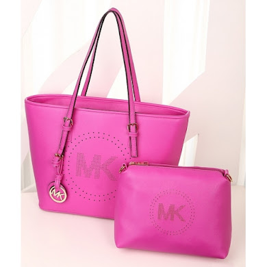 AA WITH MK LOGO (ROSE RED)