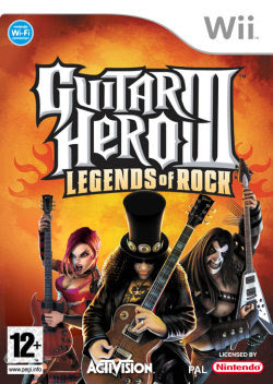Wii - Guitar Hero III - Legends Of Rock