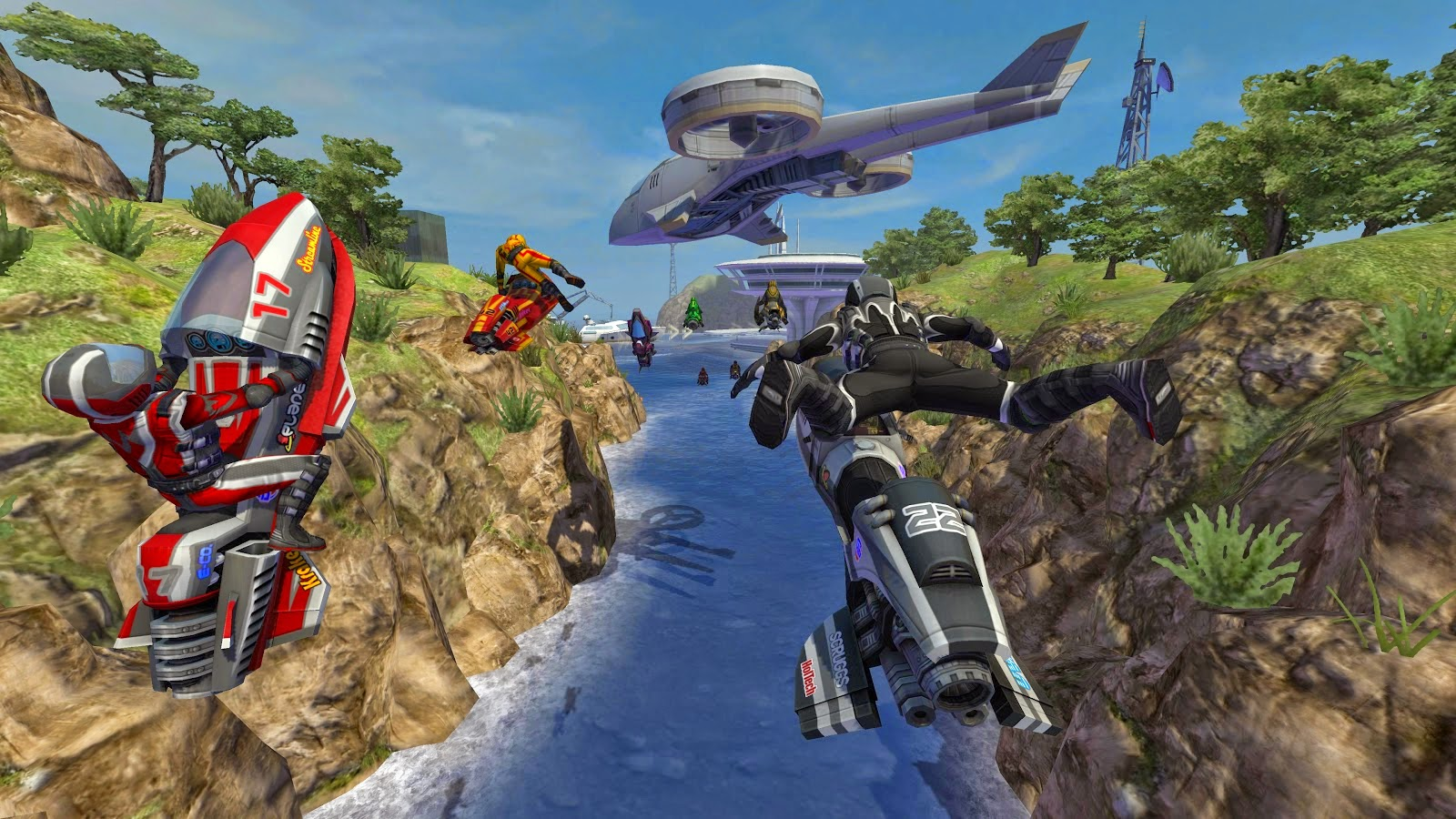 vRiptide GP2, Game Balapan Jet Air Seru