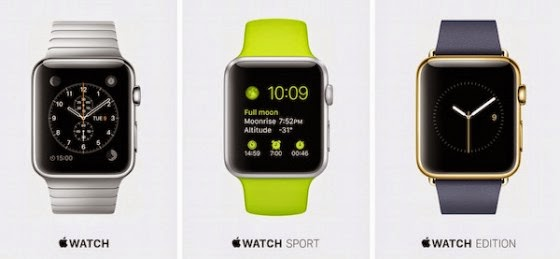 keynote apple watch 9 mars