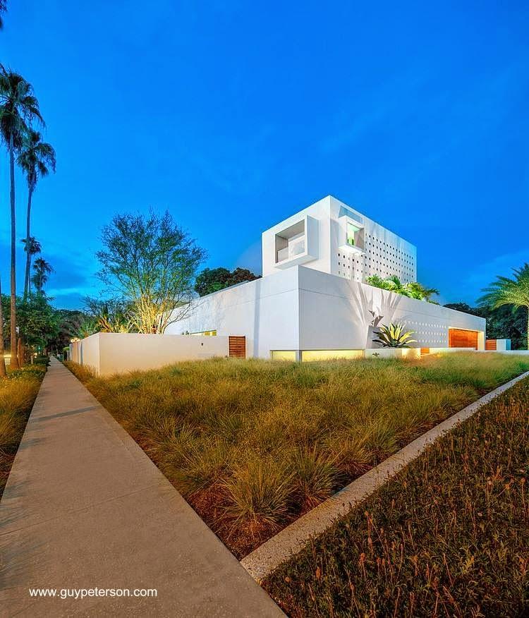 Mansión minimalista en Florida, Estados Unidos