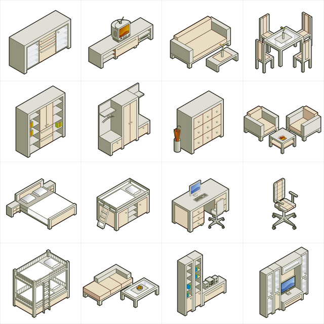 isometric view interiors blog