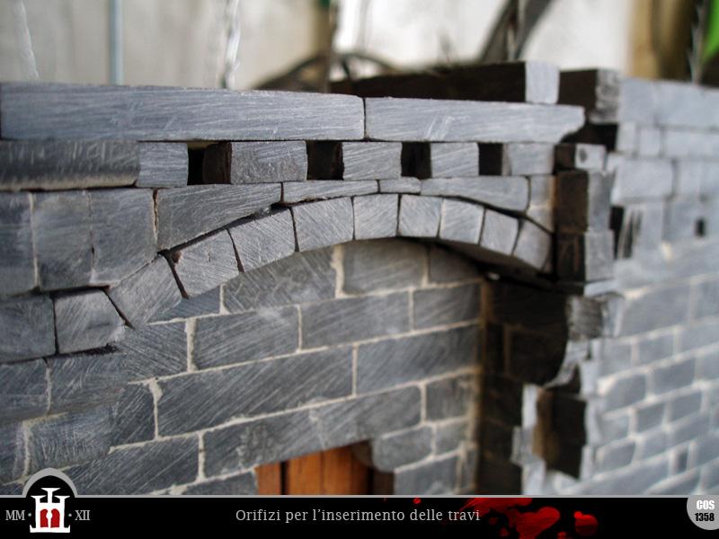 Domus project costruzione 141 falso loggiato 1 - Sostegno della porta ...