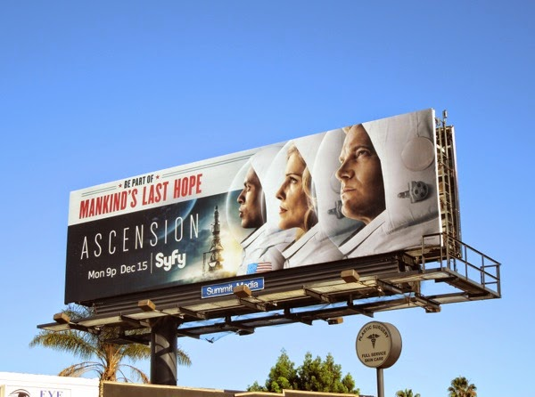 Ascension TV miniseries billboard