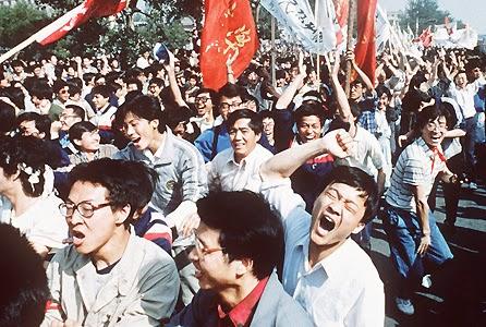 Protestas Plaza de Tiananmén Pekín 1989