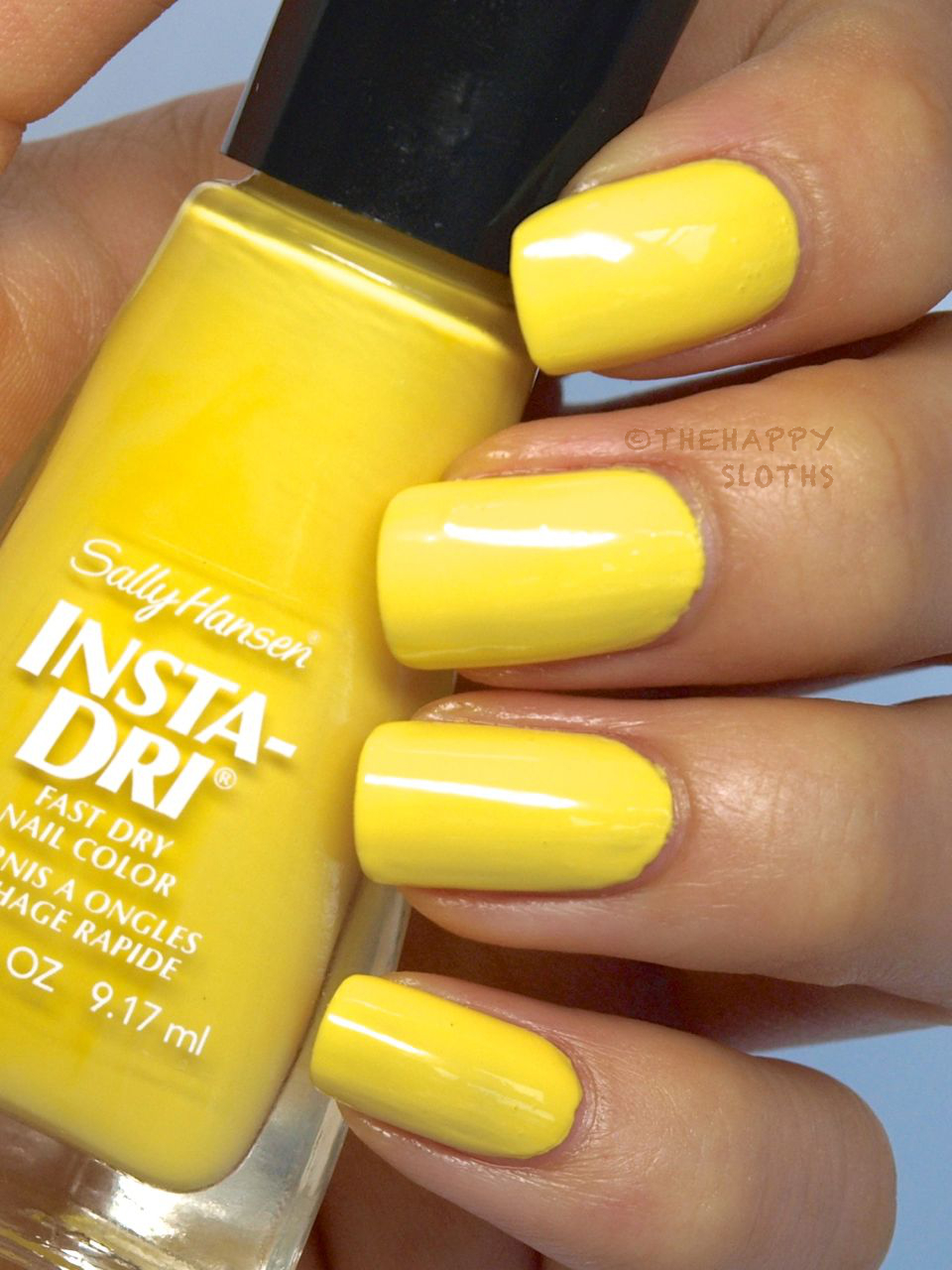 Sally Hansen Insta-Dri Moroccan Spice Market Collection Nail Polish in Sizzlin Saffron: Review and Swatches