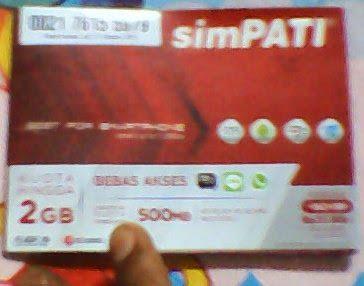 gambar Paket Kartu Simpati paket internet terbaru