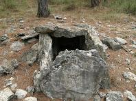 El dolmen de Sant Amanç